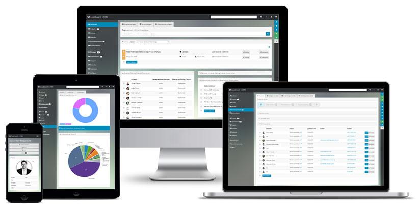 Webbasiertes CRM und Lead Management ohne Installation